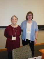 President Wendy Guion and University Chaplain Rev. Judy Guion-Utsler